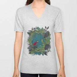 Birds Of Jungle Unisex V-Neck