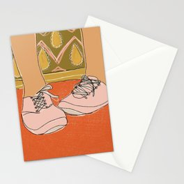 Nervous Feet Stationery Cards
