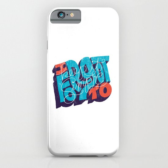 I Forgot to Keep it Simple iPhone & iPod Case