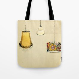Retro Lampshades Tote Bag