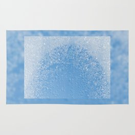 Melting frost and water condensation Rug