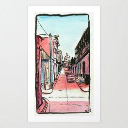 Street of the Cap Art Print