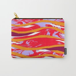 Marbled Collage Ripples - Sarah Bagshaw Carry-All Pouch