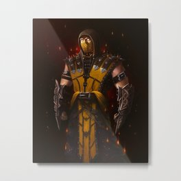 Scorpion mk game Metal Print