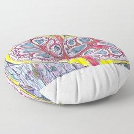 kidney heart Floor Pillow