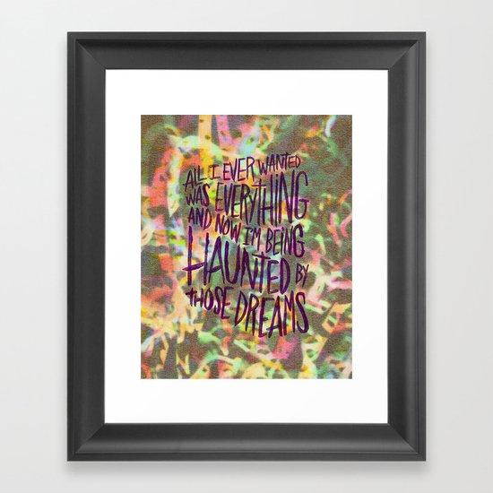KING TUFF Framed Art Print