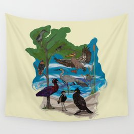 Some Birds Wall Tapestry