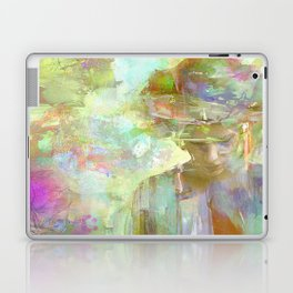 Eithne, Celtic goddess Laptop & iPad Skin