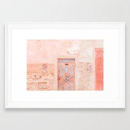Marrakech Entryway Framed Art Print