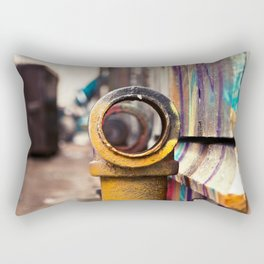 Pipe back-alley dream Rectangular Pillow