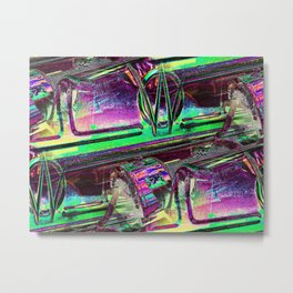 Neon OW Metal Print