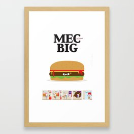 MecBig Framed Art Print