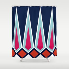 Mid Century Muse: Norms in Technicolor Shower Curtain