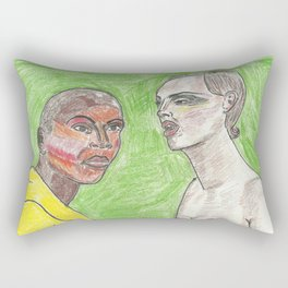 """Girl, Look How Orange You F*ckin' Look"" Rectangular Pillow"