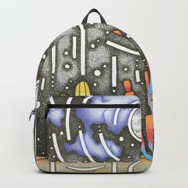 The Aliens are Coming Backpack