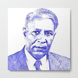 Garrett Augustus Morgan, Sr. - Great African Americans - Invented The 3 Position Traffic Signal B1 Metal Print