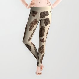 Pinecones Leggings