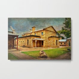 Beechworth Courthouse Metal Print