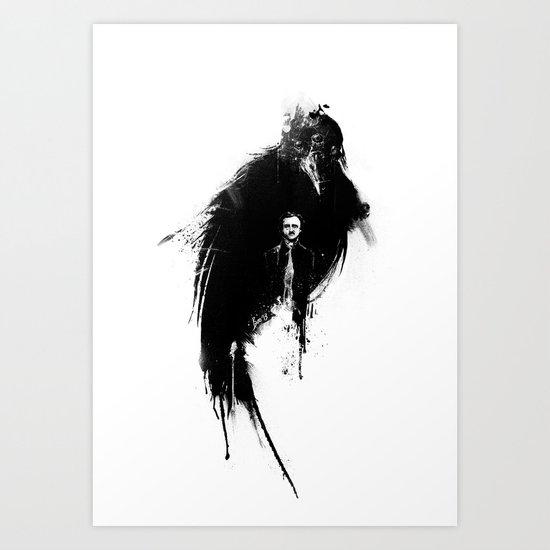 Quoth the Raven Art Print