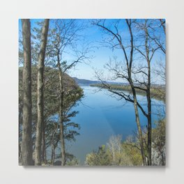 Through to the Susquehanna Metal Print