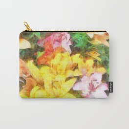 Lilies Love and Light Carry-All Pouch