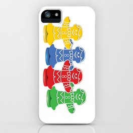 Candy Board Game Figures iPhone Case