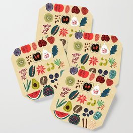 Fruit and Spice Rack Coaster