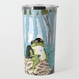 The Snail and The Frog Travel Mug