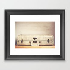 Travel in Style Framed Art Print