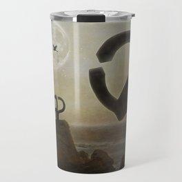 Peine del Viento (Eduardo Chillida) Travel Mug