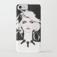 blondie iPhone & iPod Cases featuring Blondie by Christopher Morris