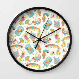 Jelly Polychaete worm Wall Clock