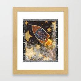 Blast Off Framed Art Print
