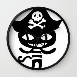 Life is strange Before the storm - Chloe Pirate Cat Cosplay Wall Clock