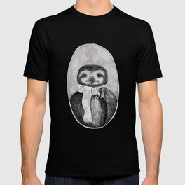Chill Sloth Smoking a Joint T-shirt