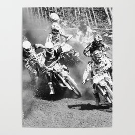 Dusty Race Poster
