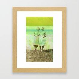 Green Promise Framed Art Print