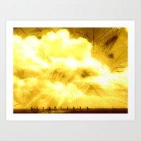 CADILLAC RANCH 2 Art Print