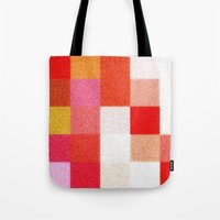 blanket Tote Bags featuring Blanket by Mr & Mrs Quirynen