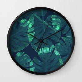 Tropica Wall Clock