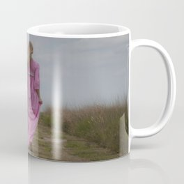 Waking on a rural path Coffee Mug