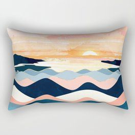Autumn Ocean Rectangular Pillow