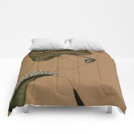 Coiffure No.3 Comforters