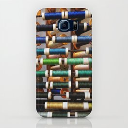 Thread samples in Paris iPhone Case
