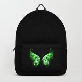 Green Fairy Wings Backpack