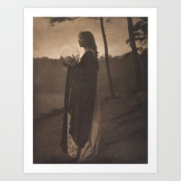 The Bubble by Clarence H. White, 1895 Art Print