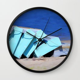 Boat for rent 1 Wall Clock