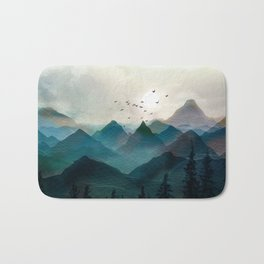 Mountain Sunrise II Bath Mat
