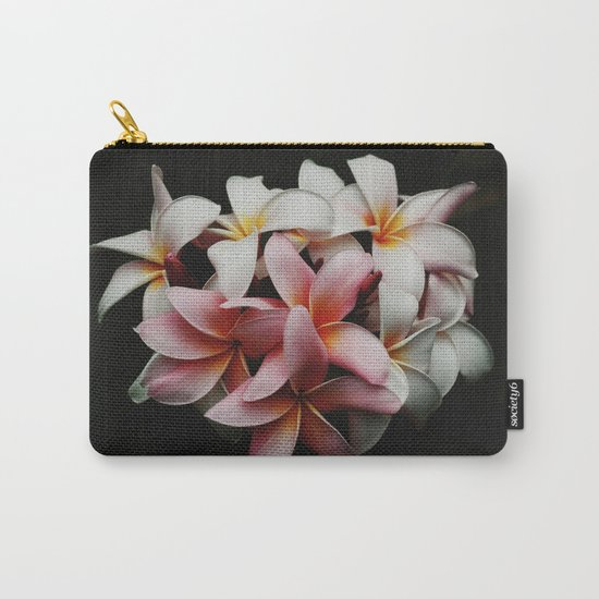 Flowers In The Dark Carry-All Pouch