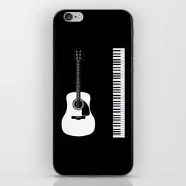 Guitar Piano Duo iPhone Skin